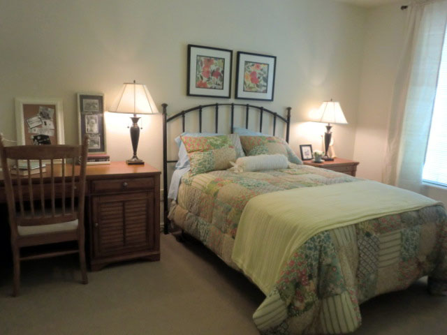 個室のベッドルーム