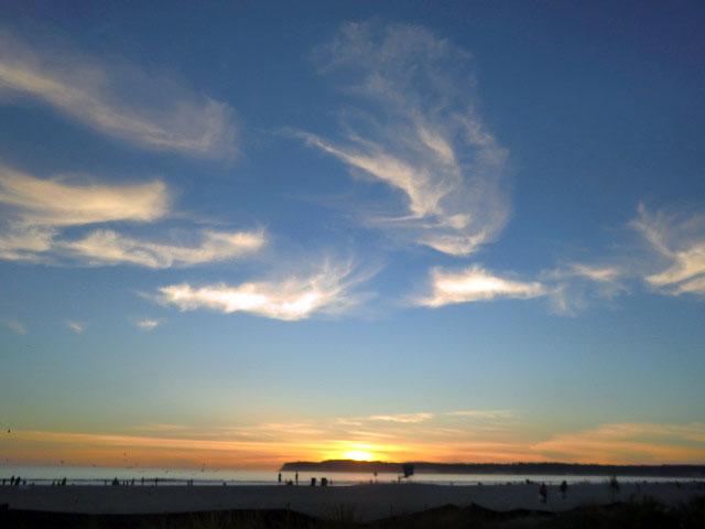 夕日のコロナード