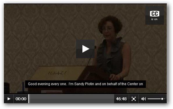 キーノートスピーチのビデオへのリンク