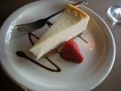 デザートのケーキ写真