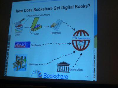 Bookshareの発表