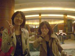 大阪で学生と2