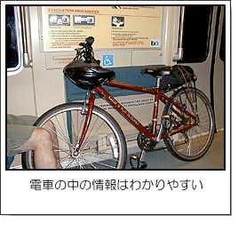 電車の中の情報はわかりやすい
