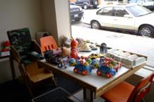 子供向けのおもちゃスペース