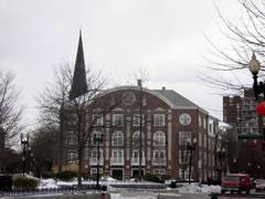 写真:ハーバード大学の周囲の街並み2