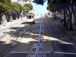画像:名物の路面電車