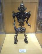 画像:展示してあるロボット