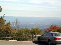 画像:シリコンバレー一望の眺め