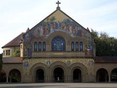 画像:美しいキャンパスの建物