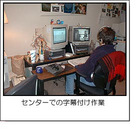 Web上の映像に字幕をつける