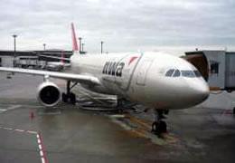 画像:これから搭乗するNW11機の写真